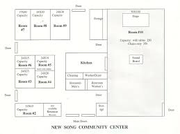 Community Center Floor Plans by Community Center U2013 New Song Community Church