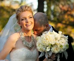 statement necklace wedding images Which jewelry to wear with your wedding dress jpg