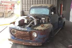 Vintage Ford Truck Exhaust - video scott birdsall brings his smoky f1 to hoonigan