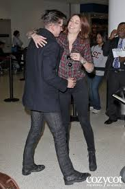arielle vandenberg alex turner greeted by new girlfriend arielle vandenberg at lax oh