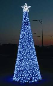 christmas tree shaped lights cone shaped christmas trees fantasy lights group dimartini world