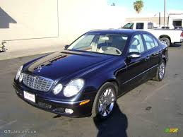 Blue Ash Color by 2003 Capri Blue Metallic Mercedes Benz E 500 Sedan 2257674 Photo