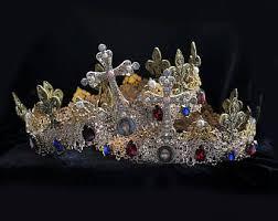 orthodox wedding crowns blue gold wedding crowns orthodox wedding crownsm