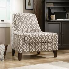 Blue And White Accent Chair by Interesting Printed Accent Chairs Decoration Ideas Home Furniture