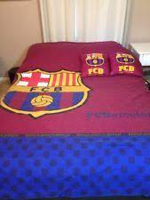 Barcelona Duvet Set Soccer Bedding Ebay