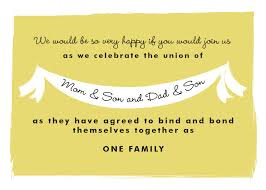 wedding quotes joining families wedding invitation wording joining two families yaseen for