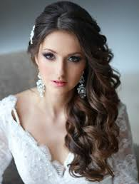 front view of side swept hairstyles super cute wedding side swept curly hairstyles 2015 styles time