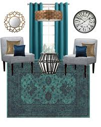mood board mixed metal living room little house of four