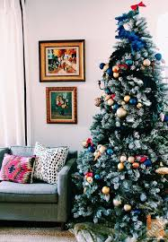 Christmas Tree With Blue Decorations - christmas tree decorating ideas christmas trees blue christmas