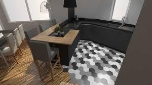 cuisine moderne bois massif enchanteur cuisine gris et bois avec cuisine moderne bois massif
