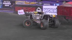 monster truck show at dodger stadium monster jam max d in foxborough june 21 2014 youtube