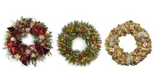 holiday time pre lit 18 christmas garland multi lights 60 best christmas door wreath ideas 2017 decorating with christmas