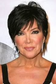 kris jenner haircut side view layered short hair older ladies trend kris jenner hair jpg hair