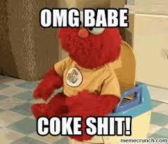 Coke Bear Meme - shit