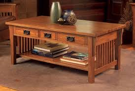 mission style coffee table light oak coffee table mission style arts crafts for side idea 7