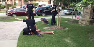 texas police officer on leave after pulling gun on unarmed teens