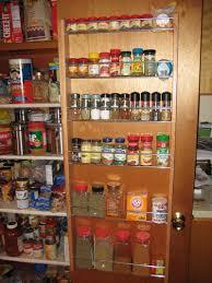 Spice Rack Pantry Door Over The Door Spice Rack Good Back Of The Door Spice Rack With