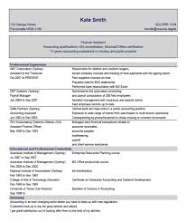 Sample Resume Accounting Assistant Sample Resume For Accountants In Australia Best Resumes