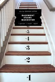 Staircase Makeover Ideas Basement Stairs Makeover Basement Gallery