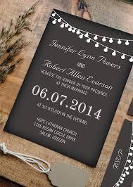 chalkboard wedding invitations affordable string lights chalkboard wedding invitations ewi356 as