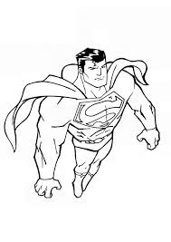 superman coloring pages super hero coloringstar