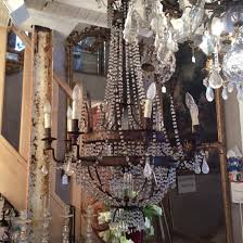 Bronze And Crystal Chandeliers Antique French Period Empire Bronze And Crystal Chandelier With