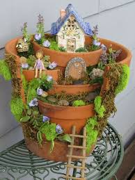 Fairy Garden Craft Ideas - diy broken pots fairy gardens fairy gardens and garden ideas