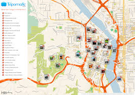 Chicago Attractions Map Maps Update 21051488 Portland Oregon Tourist Attractions Map