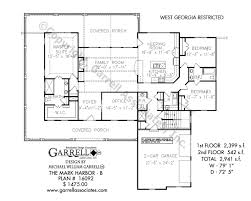 mark harbor b house plans by garrell associates inc