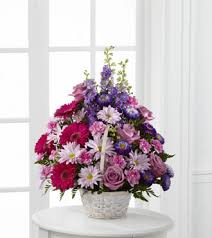 fds flowers ftd pastel peace basket blooms today