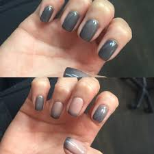 mood changing gel nails from to grey thanks dary yelp
