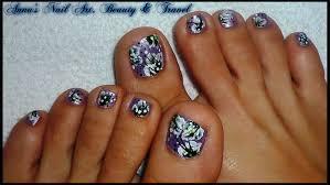 31 black and white toe nail designs 35 easy toe nail art designs