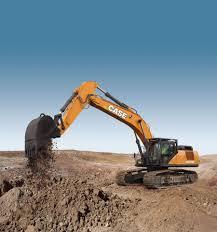 case cx470c full size excavator case construction equipment