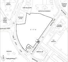 site plan martin modern