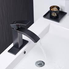 bwe oil rubbed bronze deck mount single handle waterfall bathroom
