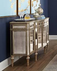furniture charming black cabinet mirrored buffet table with
