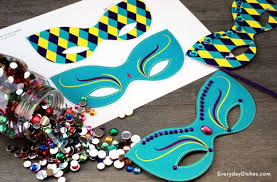 diy mardi gras mask tuesday party on your homestead total survival