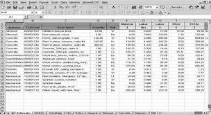 Building Construction Estimate Spreadsheet Excel Roof Cost Estimation General Construction Sheet Roof Estimate