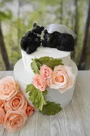 bear hunter black bear lover wedding cake topper themed