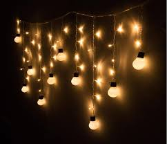 the amazing and also lovely string bulb lights with regard to