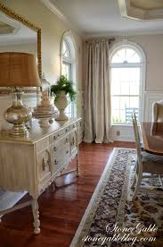 Window Treatments For Dining Room Dining Room Curtains Stonegable