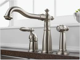 delta single handle kitchen faucet with spray sink faucet stunning single handle kitchen faucet