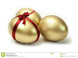 gold easter eggs gold easter eggs stock photos image 4118553