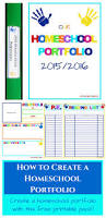 free homeschool portfolio pack worksheets u0026 printables for pre k