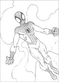 kidscolouringpages orgprint u0026 download spiderman color pages to