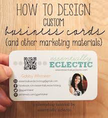 create your own card design your own business cards pages tutorial create your own
