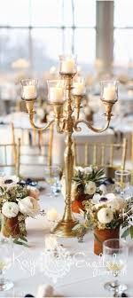 cheap candelabra centerpieces golden centerpiece to add glitz glow in wedding weddceremony