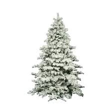 shop vickerman 9 ft alaskan pine flocked artificial tree