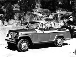 jeep jeepster commando convertible 1967 pictures information