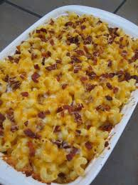 thanksgiving mac and cheese recipe this baked macaroni and cheese with bacon feeds a crowd the